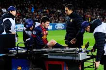 Messi hurt as Benfica hold Barcelona to 0-0