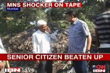 Caught on camera: MNS leader slaps 65-yr-old contractor