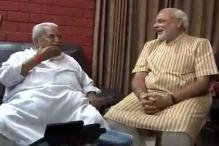 Gujarat polls: Modi seeks Keshubhai's blessings after win
