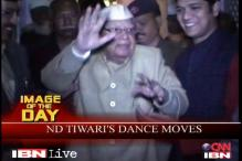 Watch: ND Tiwari dance during a qawwali performance in UP