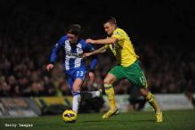 Norwich make it 10 games unbeaten with 2-1 win