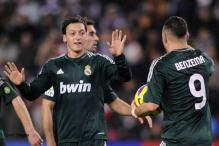 Oezil nets 2 to give Madrid 3-2 win at Valladolid