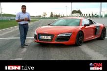 Overdrive: First look of 2013 model of the Audi R8