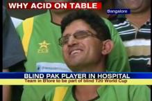 Pak blind cricket team captain drinks phenyl, hospitalised