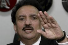 Pak Interior Minister Rehman Malik to arrive today
