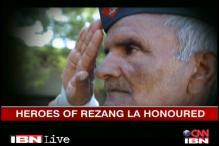 Heroes of Rezang La honoured by CNN-IBN