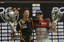 Grosjean beats Kristensen to win Race of Champions