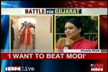 Modi vs Shweta Bhatt a lopsided battle in Guj CM's favour
