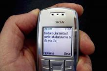 Happy birthday SMS! The SMS is dying