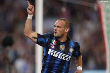 Inter not to force Sneijder, says president Moratti