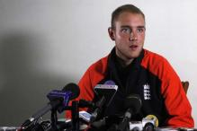 Broad ruled out of T20 matches against India