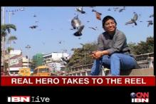 Real hero takes women trafficking menace to the reel