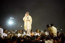 Sena removes Thackeray's memorial structure from Shivaji Park