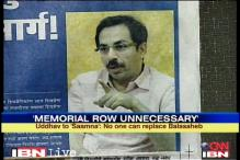 Row over Balasaheb memorial unnecessary: Uddhav