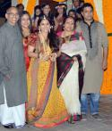 Vidya Balan and Siddharth Roy Kapur's engagement, sangeet and mehndi pictures