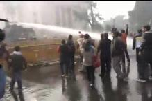 Delhi gangrape: Police use water cannons on crowds