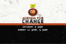 On the Citizen Journalist Show: Agenda for Change Special