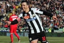 Udinese beat 10-man Inter 3-0 in Serie A