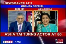 Newsmaker of the Day: Asha Bhosle