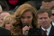 Did Beyonce lip-sync the US national anthem at Obama's inaugural ceremony?
