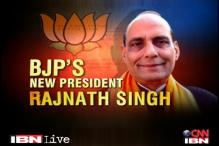 Sonia, PM must apologise and sack Shinde: Rajnath
