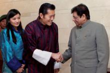 Ladies, Bhutan's handsome young king is in India!