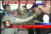 Rajnath Singh elected unopposed as BJP president