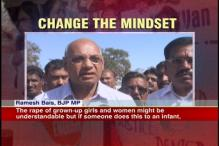 Rape of grown-up girls understandable, says BJP MP