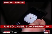 RIM to unveil Blackberry 10 today