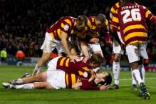 Bradford stun Aston Villa 3-1 in League Cup semis