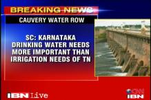 Cauvery water dispute: SC says K'taka should get precedence