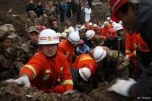 China: Landslide death toll goes up to 43