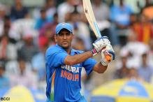 Dhoni hails team after series win
