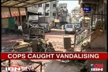 Dhule riots: Policemen caught on video vandalising property suspended
