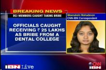 DCI member caught taking bribe from college staff