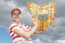 Elena Vesnina wins Hobart International