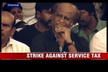 Rajinikanth lends support to Tollywood's strike against service tax