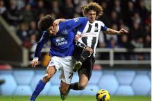Everton win 2-1 at Newcastle in Premier League