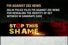 FIR against Zee News for revealing identity of braveheart's friend