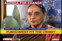 Can't change law for one case: Justice Leila Seth
