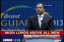 Anil Ambani compares Modi to Gandhi, Dhirubhai