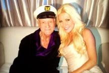 Fully foreign: Playboy chief Hefner marries Harris
