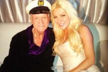 Playboy Hugh Hefner marries his 'runaway bride'