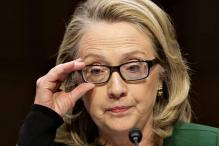 Clinton chokes up as she defends handling of Benghazi attack