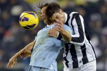 Lazio hold Juventus in Italian Cup semis first leg