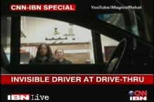 Watch: A car driven by an invisible driver