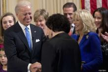 Biden sworn in as US Vice President for second term