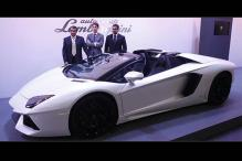 Lamborghini Aventador roadster launched in India