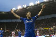 Own goals help Chelsea beat Stoke City 4-0