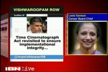 Delighted by news on Cinematograph Act: Leela Samson